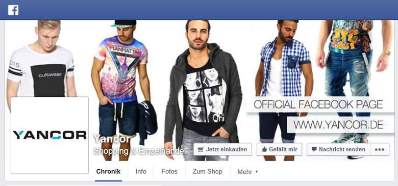 Yancor bei Facebook